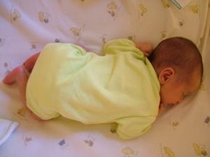 Popo havada uyuma pozisyonu